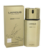 Lapidus Gold Extreme by Ted Lapidus Eau De Toilette Spray 3.4 oz for Men - $29.95