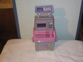 atm penny bank great for kids - $21.00