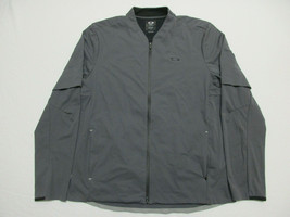 Oakley Golf Albatross Full Zip Vented Rain Jacket Men's Size XL Gray - $55.78