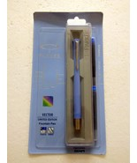 Parker Vector Limited Edition CT Fountain Pen Light Blue + 2 ink Cartrid... - $17.99