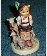 """Little Goat Herder"" Goebel Hummel Figurine #200/0 TMK5 - CUTE COLLECTIBLE! - $72.74"
