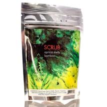 Bamboo & Apricot 100% Natural Body Scrub & Facial Cleanser Soft Exfoliation 4oz - $6.91