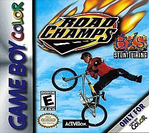 Road Champs BXS Stunt Biking (Nintendo Game Boy Color, 2000) CART ONLY