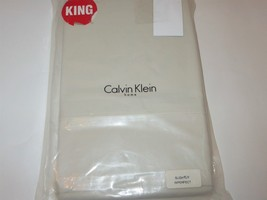 Calvin Klein Wash Cumulous King flat sheet New - $47.83