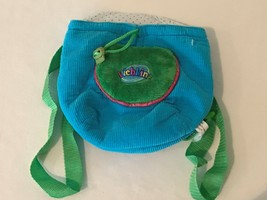 Webkinz Blue Plush Pet Knapsack Carrier Backpack by Ganz HC102 - $4.99