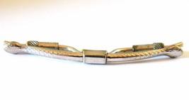 Vintage Men's Snake Head Tie Clip Clasp Retro Tie Formal Wear Accessories - $13.99