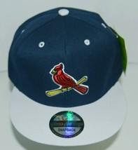 Green Cabbage Premium Headwear St Louis Cardinals Snapback Cap Colors Blue White image 1