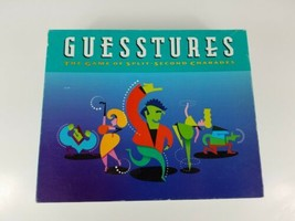 GUESSTURES Board Game 1999 Milton Bradley - $6.79