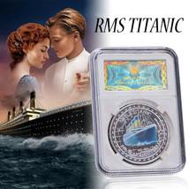 WR US Titanic Souvenir Silver Foil Coins Challenge Storage Commemorative... - $7.88