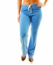 Sundry Women's Authentic New Casual Trainers Sweatpants Blue Size US 1 B... - $75.23