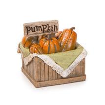 Darice Fall Decor - Pumpkin Crate Resin Fairy Garden Figurine - £7.96 GBP