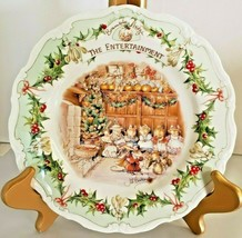 "Royal Doulton Brambly Hedge ""The Entertainment"" #4 Midwinter Plate Jill Barklem - $70.13"