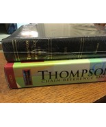SEALED 1984 NIV Thompson Chain Reference Bible Leather SMYTH SEWN Red Le... - $399.47