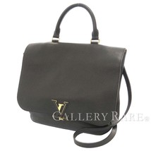 LOUIS VUITTON Volta Taurillon Leather Noir Shoulder Bag M50255 Authentic... - $2,333.64