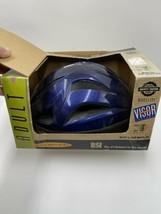 NIB Vintage BSI Bell Adult Blue Bicycle Helmet With Visor - $29.69