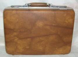 Vintage American Tourister Escort Suit Hardside Suitcase Brown color - $19.79