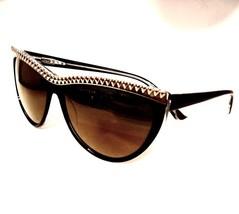 8e5a49e3d4b Tura L.A.M.B. LA500 Gwen Stefani Black Cat Eye Sunglass Women Designer 5...  -