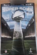 Superbowl XLV Vince Lombardi Trophy Poster Football Champions Man Cave B... - $8.18