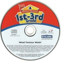 Mind Twister Math (Ages 7-10) (PC-CD, 2007) for Windows - NEW CD in SLEEVE - $6.98