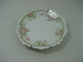 Vintage Bavaria Germany Ceramic Porcelain Decorative Collector Plate Floral - $13.98