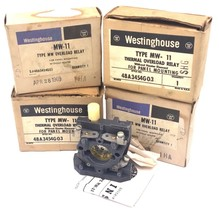 LOT OF 4 NIB WESTINGHOUSE MW-11 THERMAL OVERLOAD RELAYS STYLE NO. 48A3454G03 image 2