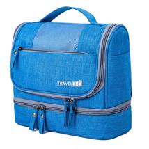 Waterproof Double Layer Travel Toiletry Kit for Men Women Portable Makeu... - $26.95