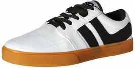 Osiris Mens White/Gum Canvas Lumin Lightweight Skateboarding Shoes Sneakers NIB image 2