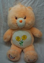 "Care Bears LIGHT ORANGE FRIEND BEAR 13"" Plush Stuffed Animal 2003 - $19.80"