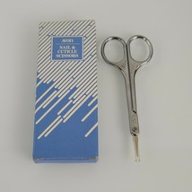 """Avon Nail & Cuticle Scissors NIB Vintage 3-1/2"""" NOS - $9.88"""