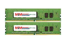 MemoryMasters 16GB (2x8GB) DDR4-2400MHz PC4-19200 ECC RDIMM 1Rx4 1.2V Registered - $89.08