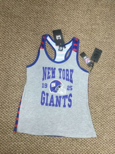 Primary image for NWT New York Giants Football NFL Team Apparel Tank Top Shirt Women's Large