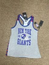 NWT New York Giants Football NFL Team Apparel Tank Top Shirt Women's Large - $14.84
