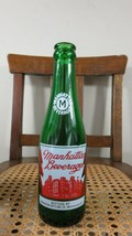 GREEN MANHATTAN BOTTLING ACL WOONSOCKET RHODE ISLAND GOOD CONDITION 1960's - $13.96