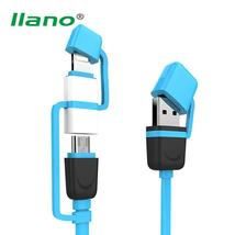 2 in 1 Fast Quick Charge Micro USB/Lightning Cable Charger - $8.99