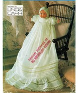 """Vogue LINDA CARR Christening Gown 16"""" Bye-Lo Baby Doll Sew Pattern - $14.99"""