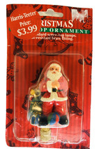 Santa and Sack of toys Resin Lamp Finial New Gibson - $6.73