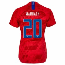 Nike Abby Wambach #20 Usa 2019 World Cup 3 Star Women's Red Womens Jersey Patch - $79.99