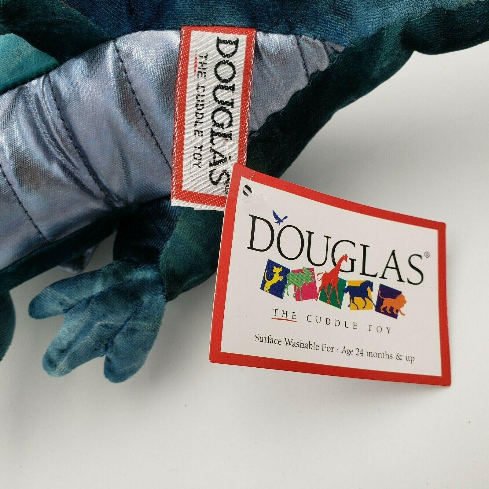 Douglas Cuddle Toy Jade Blue Dragon Plush Stuffed 729 image 7