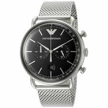 Emporio Armani Men's Quartz Stainless Steel Chronograph 43mm Dial Watch ... - $178.20