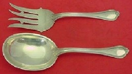 Paul Revere By Towle Sterling Silver Salad Serving Set AS 2pc - $289.00