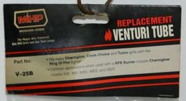 Modern Home Product V25B Replacement Venturi Tube Charmglow Chefs Choice Turco image 5