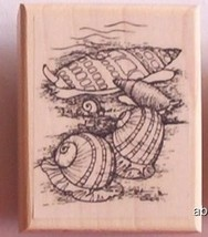 Seashells New Mounted Rubber Stamp - $5.00