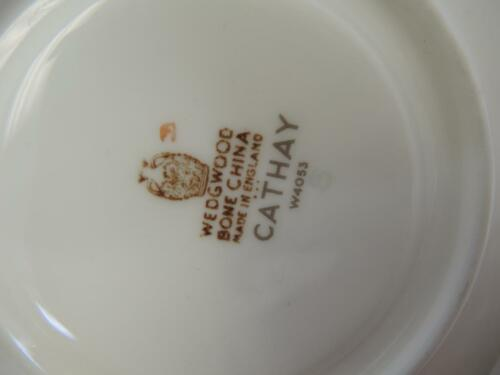 Wedgwood Cup & Saucer - Cathay Pattern image 6
