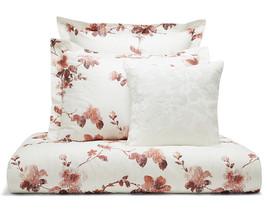 Sferra Barletta F/Queen Duvet & Shams 3 PC Set Brick Floral Cotton Perca... - $359.90