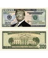 Pack of 50 - Donald Trump 2020 Re-Election Presidential Dollar Bills Acq... - $11.99