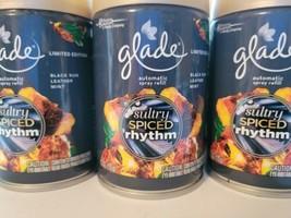 6 Glade Automatic Spray Refill Sultry Spiced Rhythm 6.2oz - $48.38