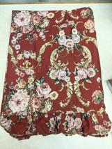 Ralph Lauren Marseilles Danielle Twin Flat Top Sheet With Ruffled Top, Nwop - $29.69