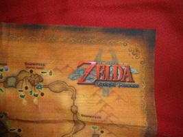 Legend Of Zelda Twilight Princess Map Nintendo - $20.00