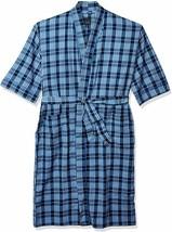 Majestic International Men's Sun Soaked Seersucker Kimono Robe - $100.05+