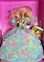 1994 ENCHANTED SEASONS SPRING BOUQUET BARBIE DOLL Limited Edition NRFB M... - $47.05